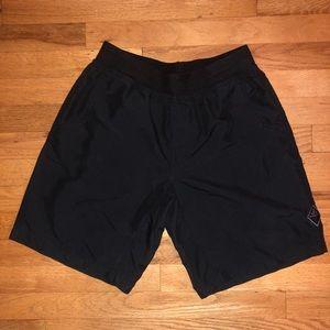 Prana Black Shorts Small 100% Recycled Polyester